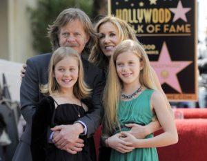 Фелисити Хаффман с мужем и детьми